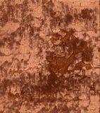 Estuco resistido de la peladura de la pintura Foto de archivo libre de regalías
