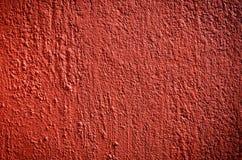 Estuco rojo Fotografía de archivo