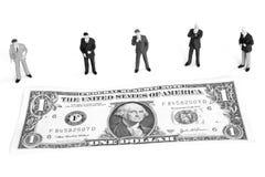 Estudando o mercado Imagens de Stock Royalty Free