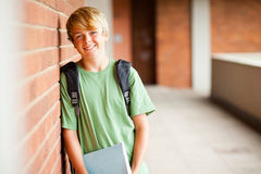 Estudante adolescente Fotos de Stock Royalty Free