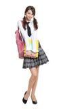 Estudante adolescente bonita fotos de stock royalty free