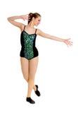 Estudante adolescente da dança de torneira fotos de stock