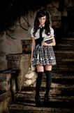 Estudante adolescente de Lolita Foto de Stock