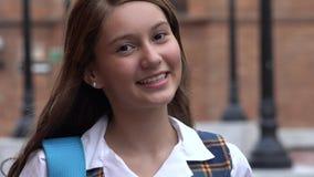Estudante adolescente de sorriso imagem de stock royalty free