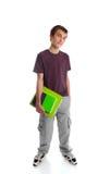 Estudante adolescente ereto fotografia de stock
