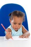 Estudante adorável do bebê Fotografia de Stock Royalty Free