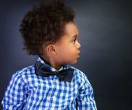 Estudante africana pequena Foto de Stock Royalty Free