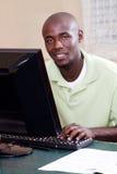 Estudante africano Imagem de Stock
