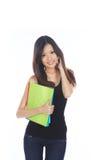 Estudante asiático Imagem de Stock