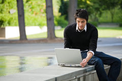 Estudante asiático imagens de stock royalty free