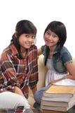 Estudante asiático que aprende fotografia de stock