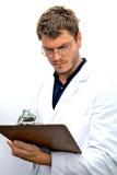 Estudante atrativo do cientista Imagens de Stock