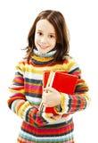 Estudante bonita com livros fotos de stock
