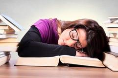 Estudante cansado Imagem de Stock