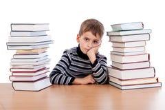 Estudante cansado Fotografia de Stock Royalty Free