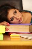 estudante com depressão Foto de Stock Royalty Free