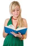 Estudante com livro foto de stock