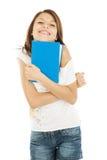 Estudante com livro fotografia de stock royalty free