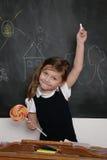 Estudante com lollipop Imagem de Stock