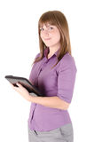 Estudante com portátil 2 Fotografia de Stock