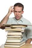 Estudante confuso Fotos de Stock
