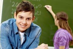 Estudante considerável Foto de Stock Royalty Free