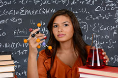 Estudante da ciência fotos de stock