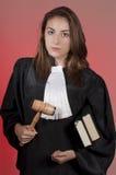Estudante da escola de direito Foto de Stock