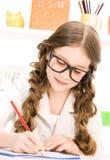 Estudante da escola primária fotos de stock