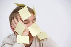 Estudante de sono Imagem de Stock