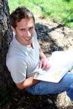 Estudante de Studing Imagem de Stock