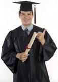 Estudante de terceiro ciclo masculina nova Imagens de Stock