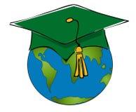 Estudante de troca Fotos de Stock Royalty Free