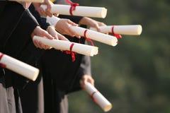 Estudante do Gratulation Imagens de Stock Royalty Free