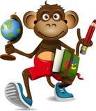 Estudante do macaco Imagens de Stock Royalty Free