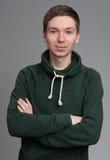 Estudante do retrato isolado Foto de Stock
