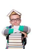 Estudante engraçado Foto de Stock Royalty Free