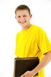 Estudante ereto foto de stock