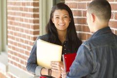Estudante fêmea adolescente Imagem de Stock Royalty Free