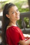 Estudante fêmea bonito Foto de Stock Royalty Free
