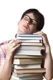 Estudante fêmea pensativo Imagens de Stock