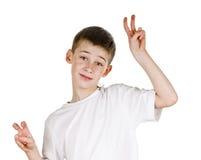 Estudante feliz Imagens de Stock Royalty Free