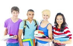 Estudante Friends Group Team Happiness Concept Imagem de Stock