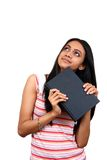 Estudante indiano novo. fotos de stock royalty free