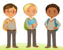 Estudante Kids ilustração royalty free