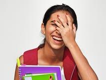 Estudante latino-americano And Laughter foto de stock