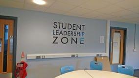 Estudante Leadership Zone fotos de stock