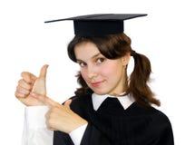 Estudante-menina nova Fotografia de Stock Royalty Free