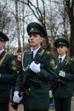Estudante Military School fotos de stock royalty free
