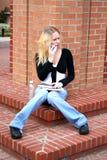 Estudante na faculdade Fotos de Stock Royalty Free